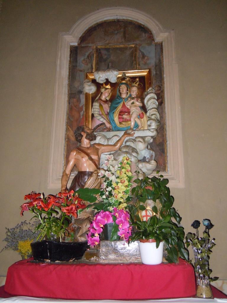 Statua da processione della Madonna di Lampedusa
