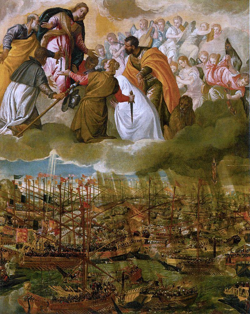 La Battaglia di Lepanto dipinta da Paolo Veronese