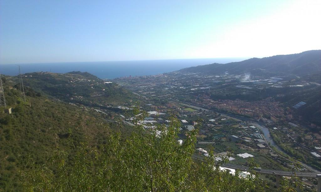 Panorama dal Santuario di Lampedusa